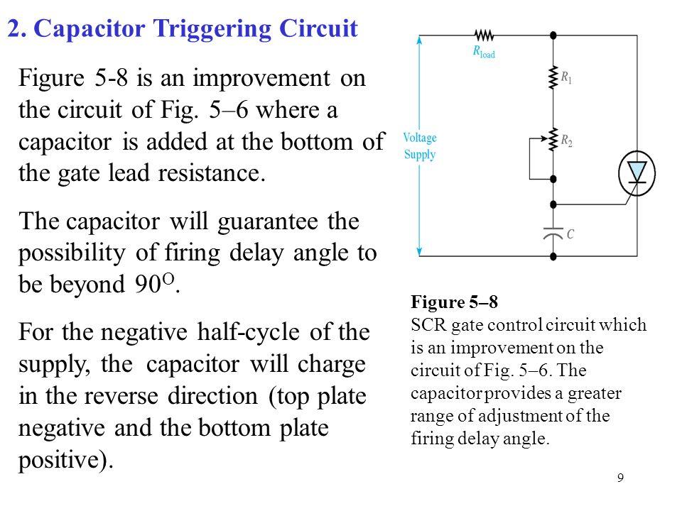 2. Capacitor Triggering Circuit