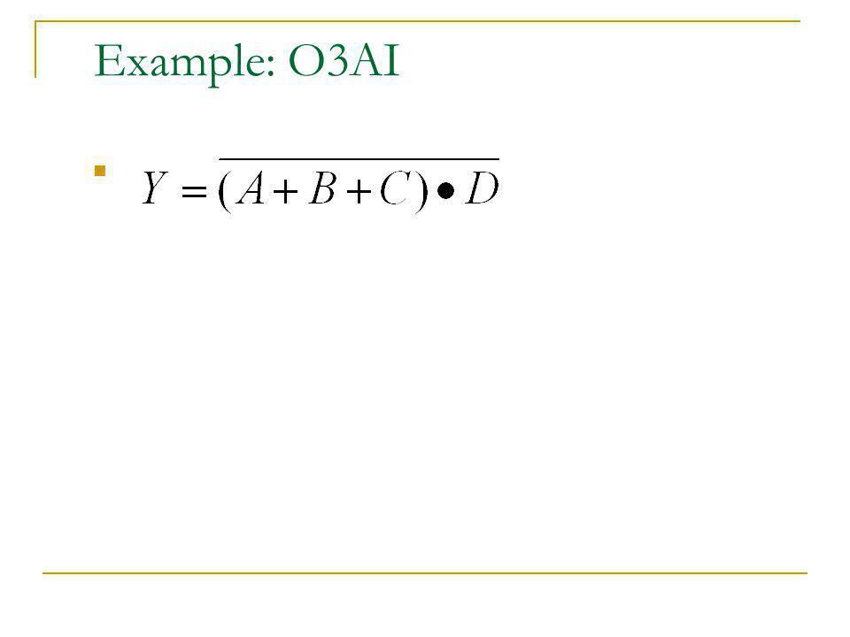 Example: O3AI
