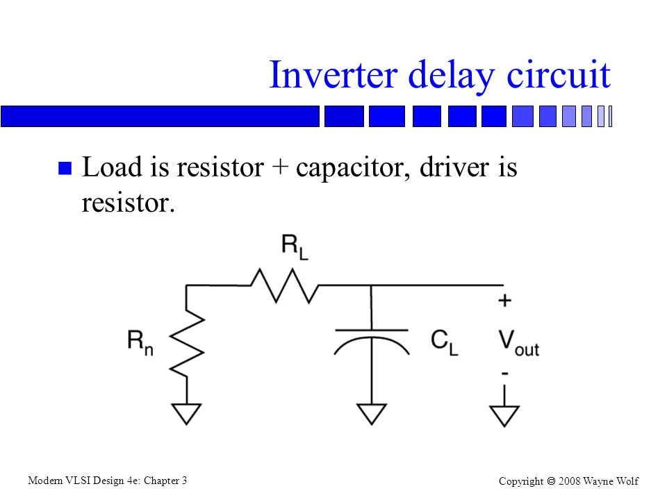 Inverter delay circuit