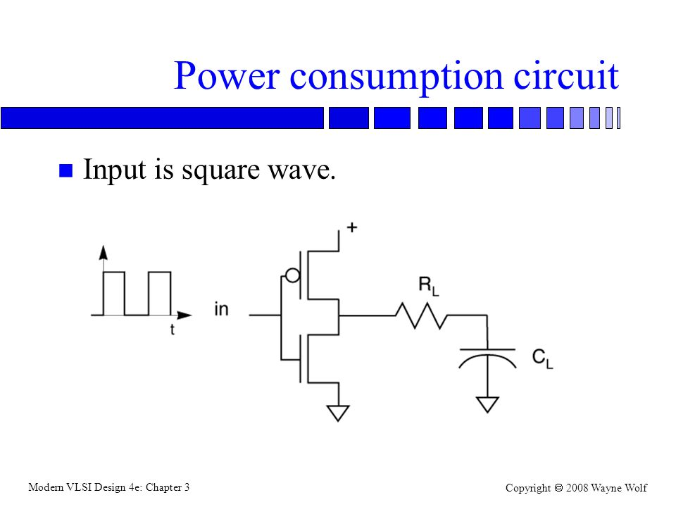 Power consumption circuit