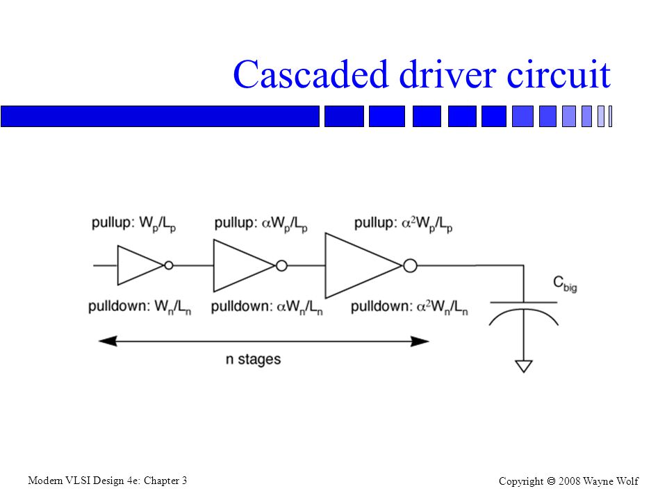 Cascaded driver circuit