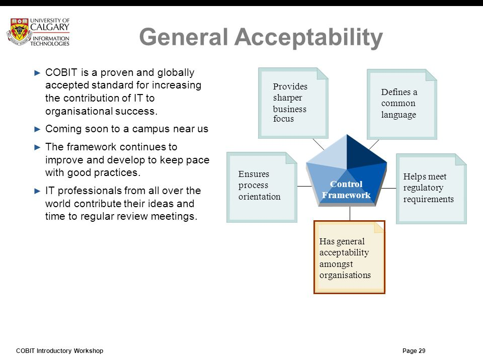 General Acceptability