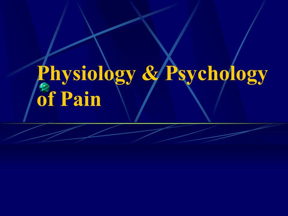 Physiology & Psychology