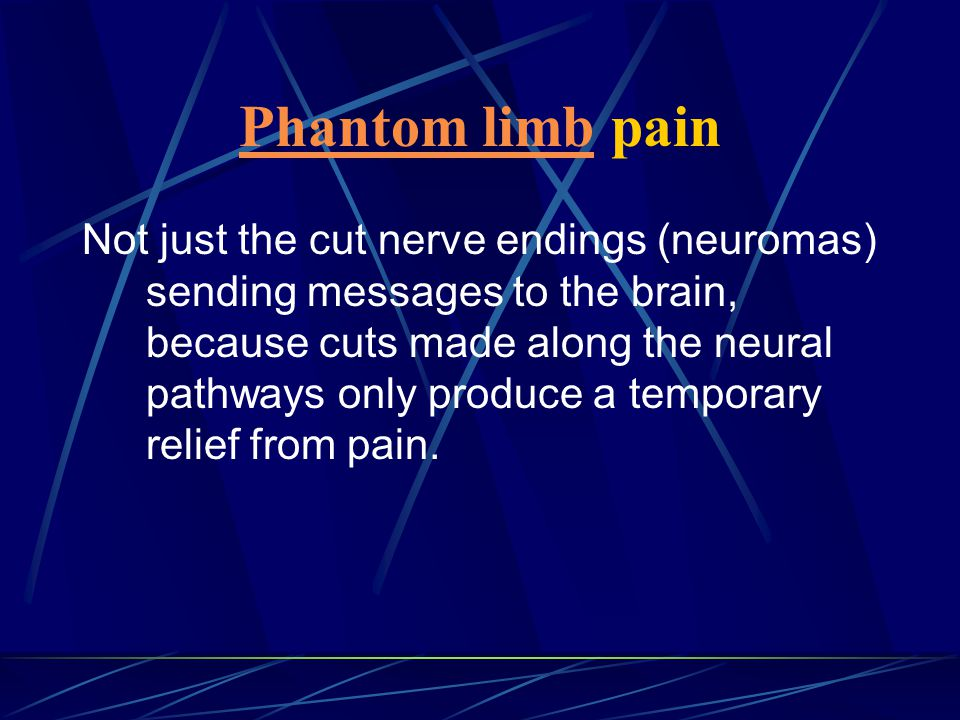 Phantom limb pain