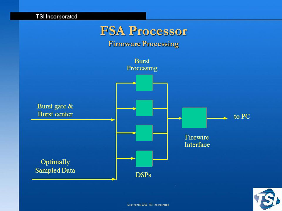 FSA Processor Firmware Processing