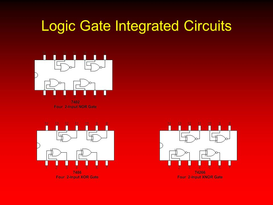 Logic Gate Integrated Circuits