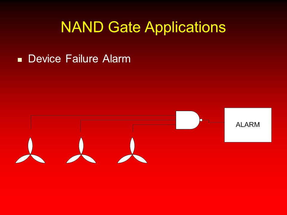 NAND Gate Applications