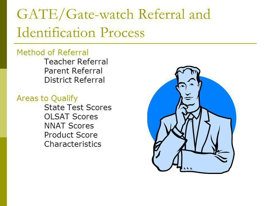 GATE/Gate-watch Referral and Identification Process