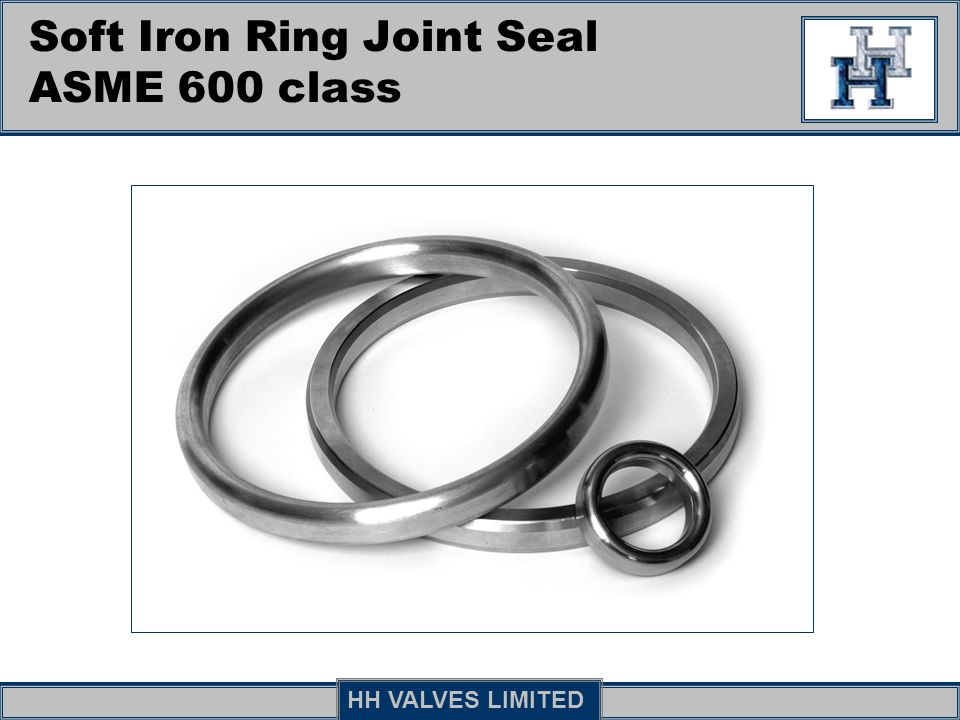 Soft Iron Ring Joint Seal ASME 600 class