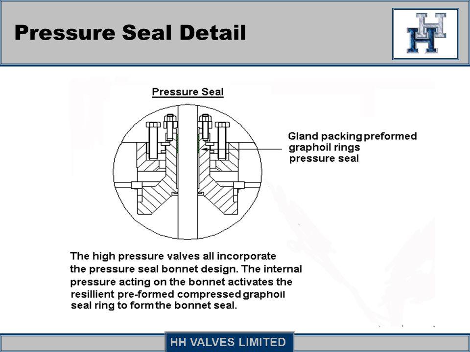 Pressure Seal Detail