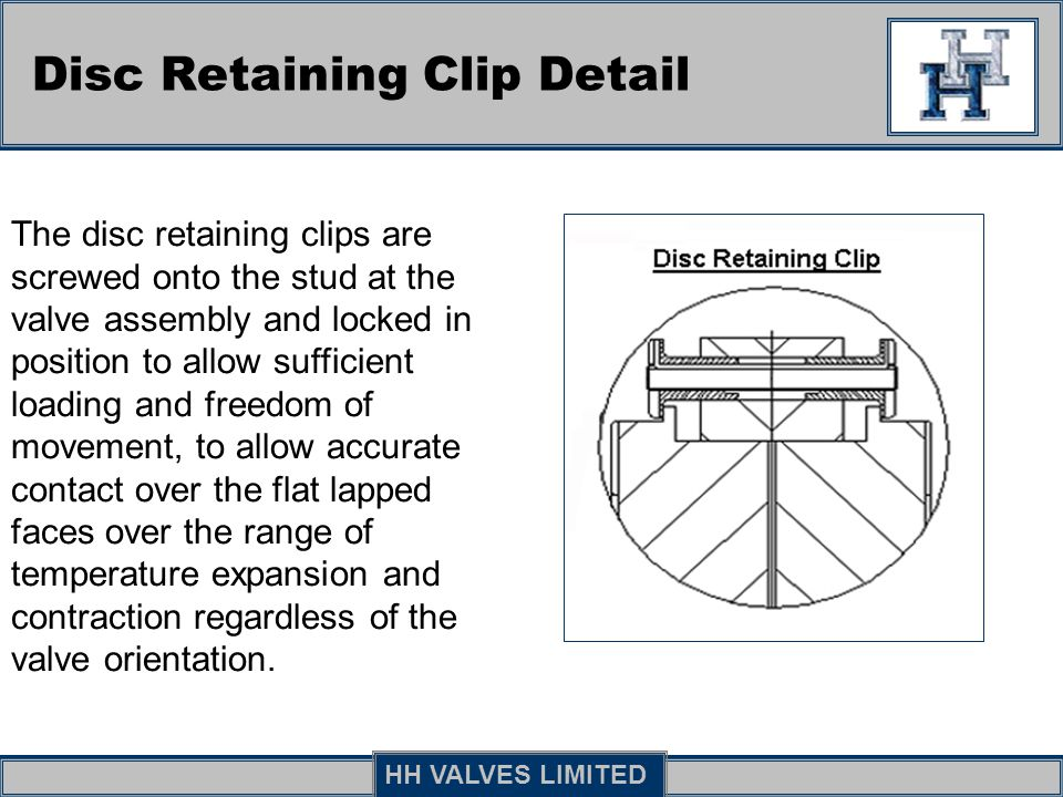 Disc Retaining Clip Detail