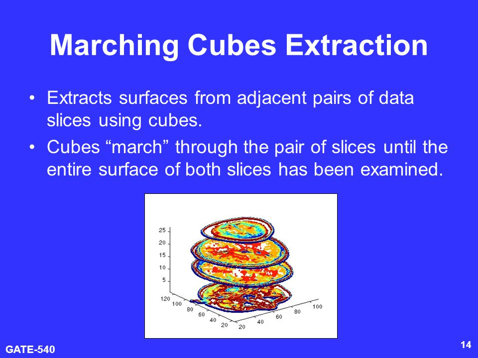 Marching Cubes Extraction
