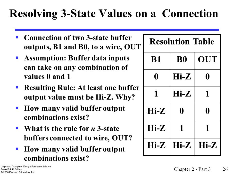 Resolving 3-State Values on a Connection