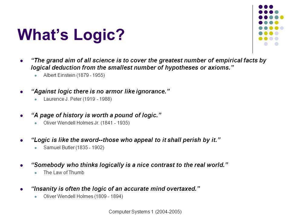 What's Logic
