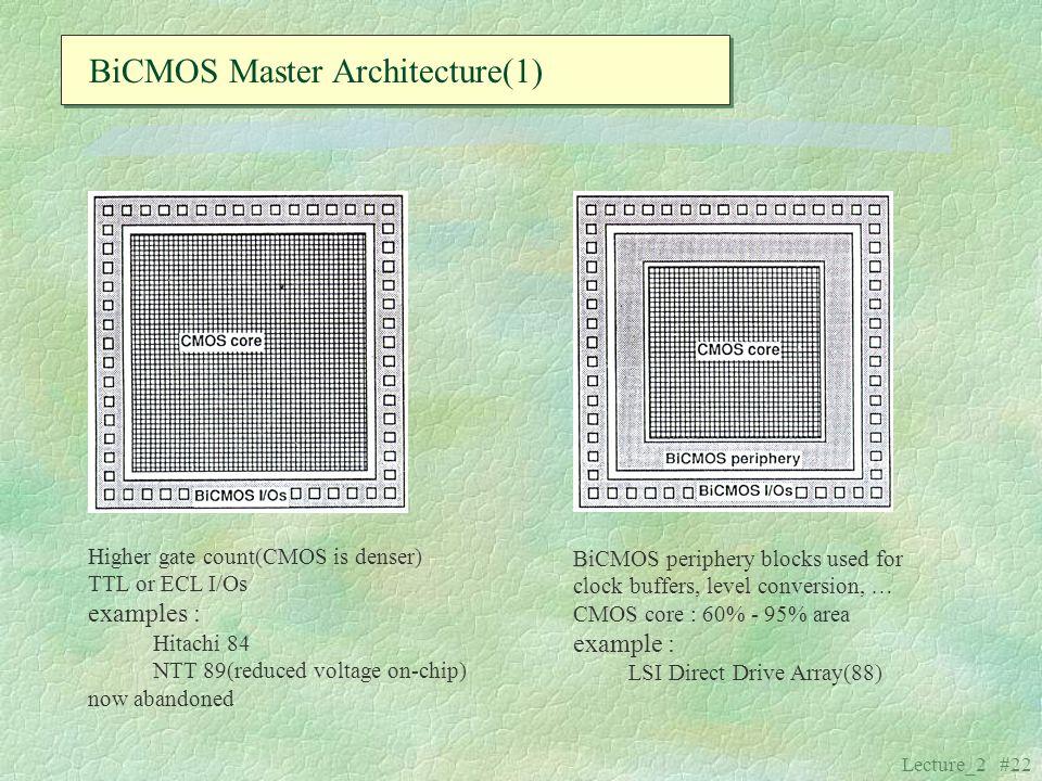 BiCMOS Master Architecture(1)