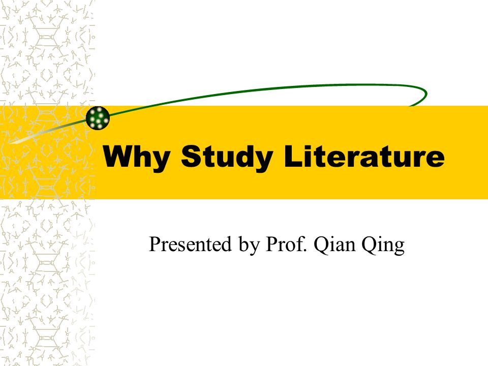 Presented by Prof. Qian Qing