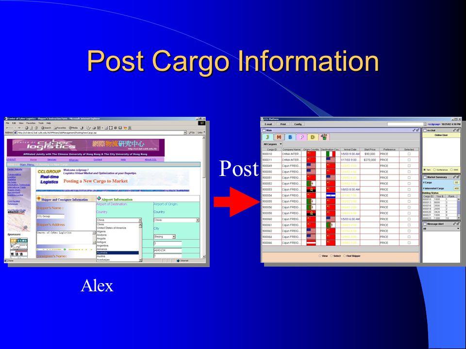 Post Cargo Information
