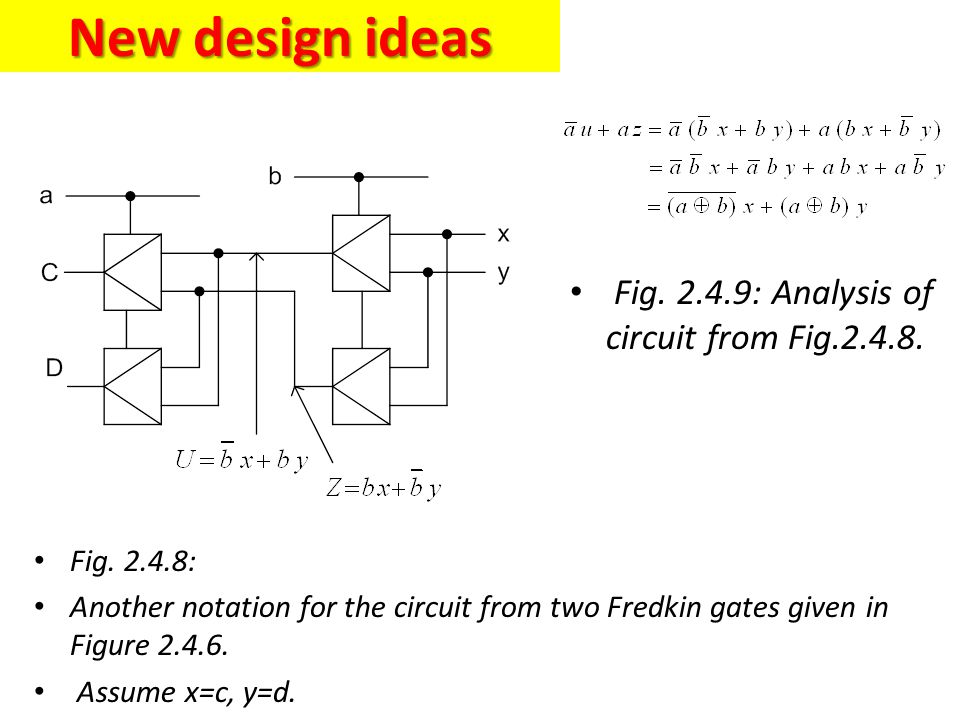 New design ideas Fig. 2.4.9: Analysis of circuit from Fig.2.4.8.
