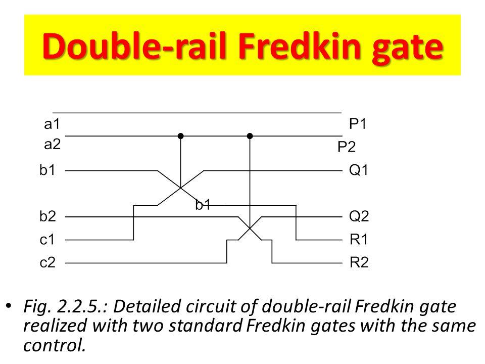 Double-rail Fredkin gate