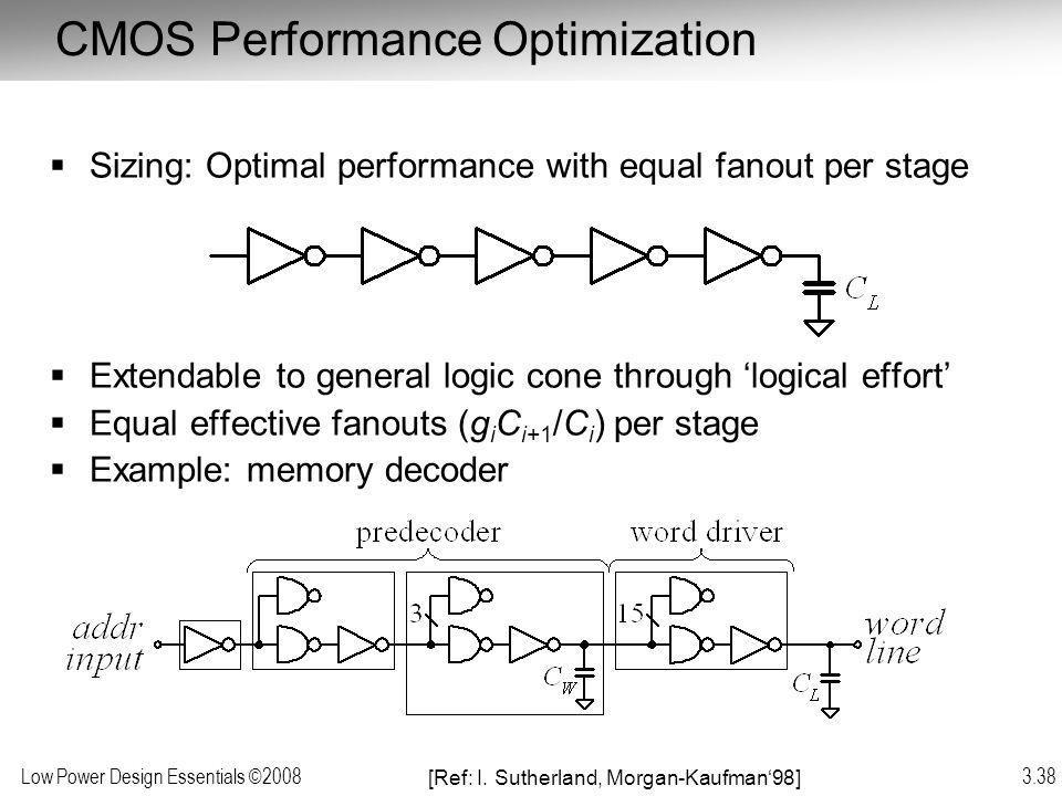 CMOS Performance Optimization