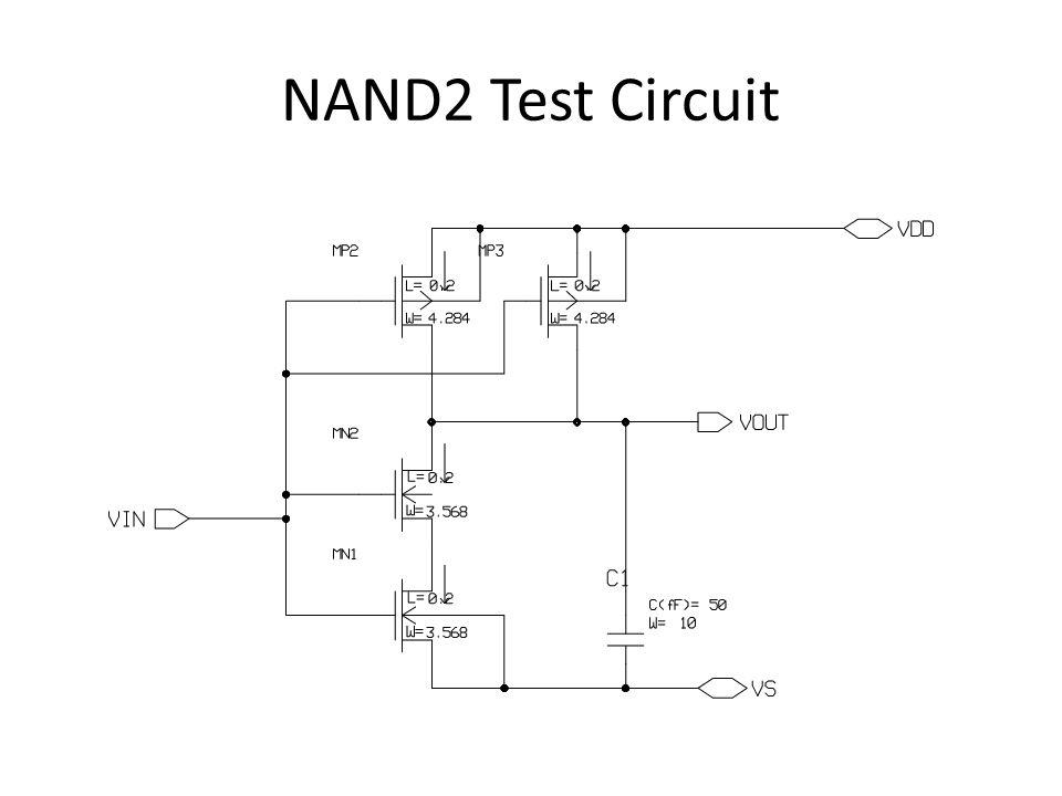 NAND2 Test Circuit