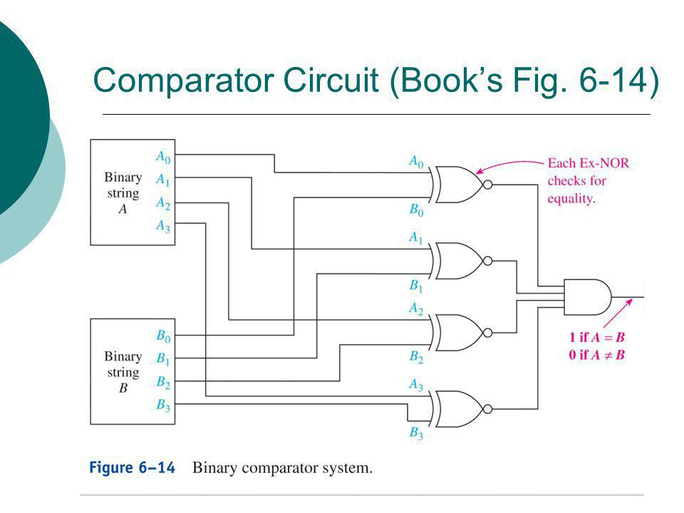 Comparator Circuit (Book's Fig. 6-14)