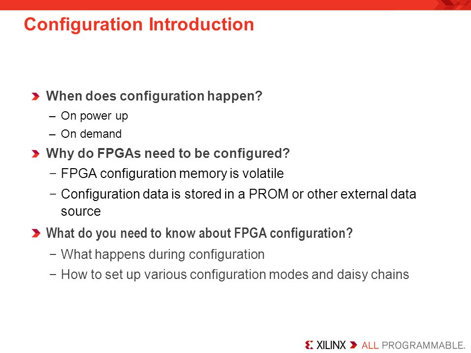 Configuration Introduction