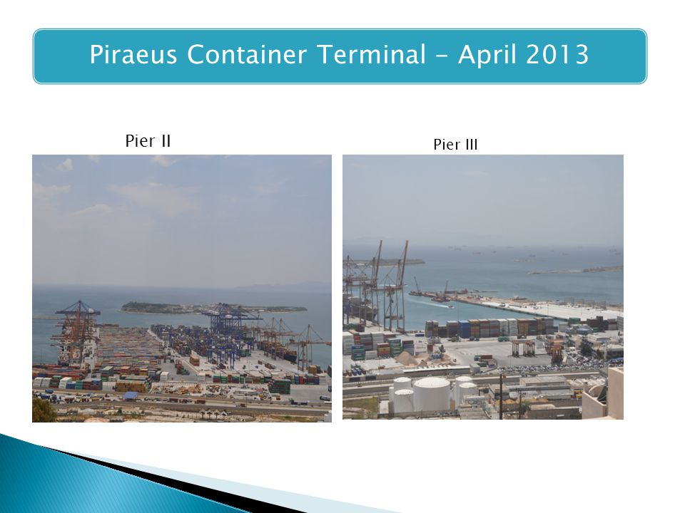 Piraeus Container Terminal - April 2013