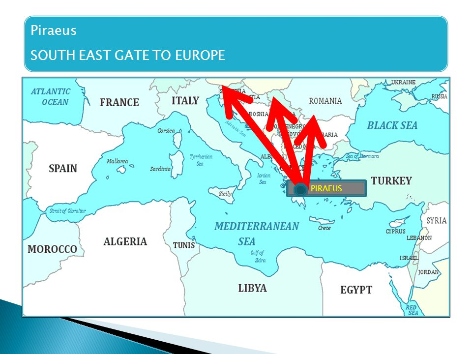 SOUTH EAST GATE TO EUROPE