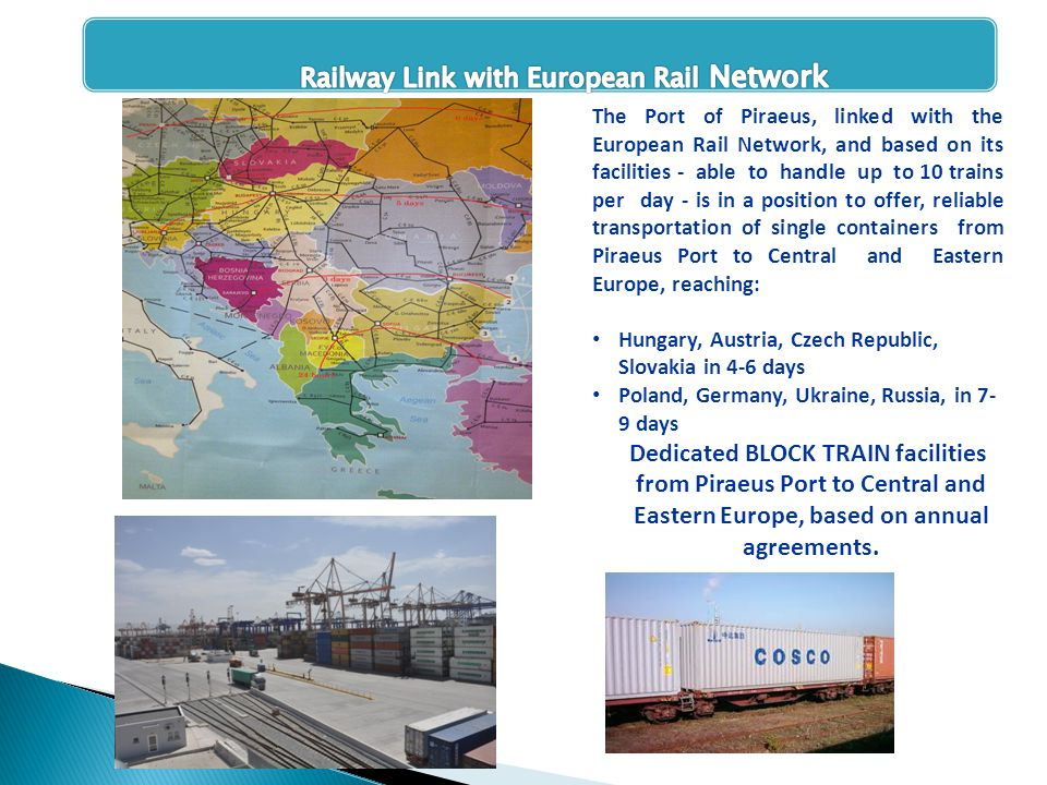 Railway Link with European Rail Network