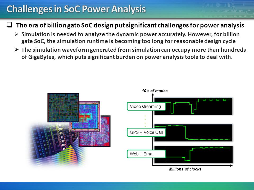 Challenges in SoC Power Analysis