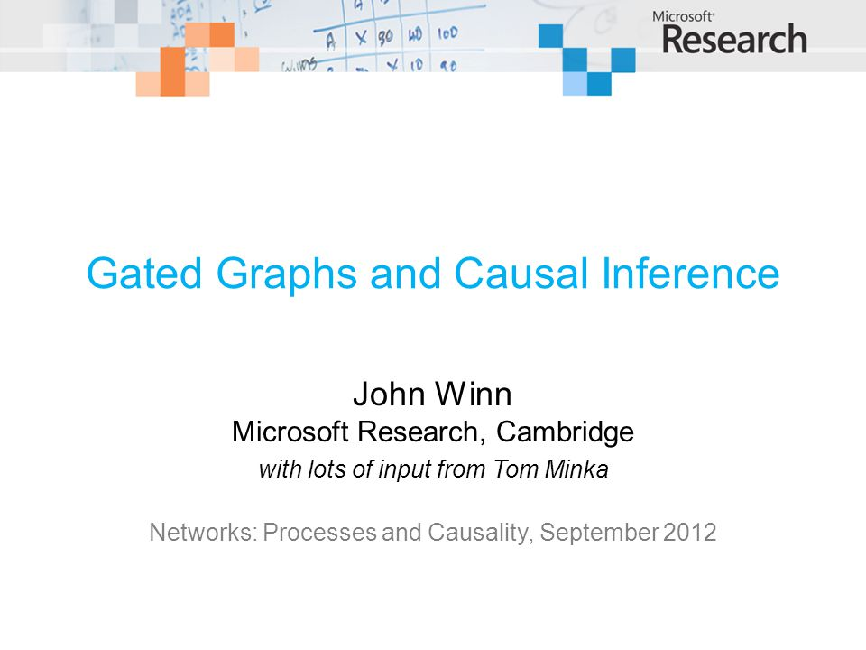 Gated Graphs and Causal Inference
