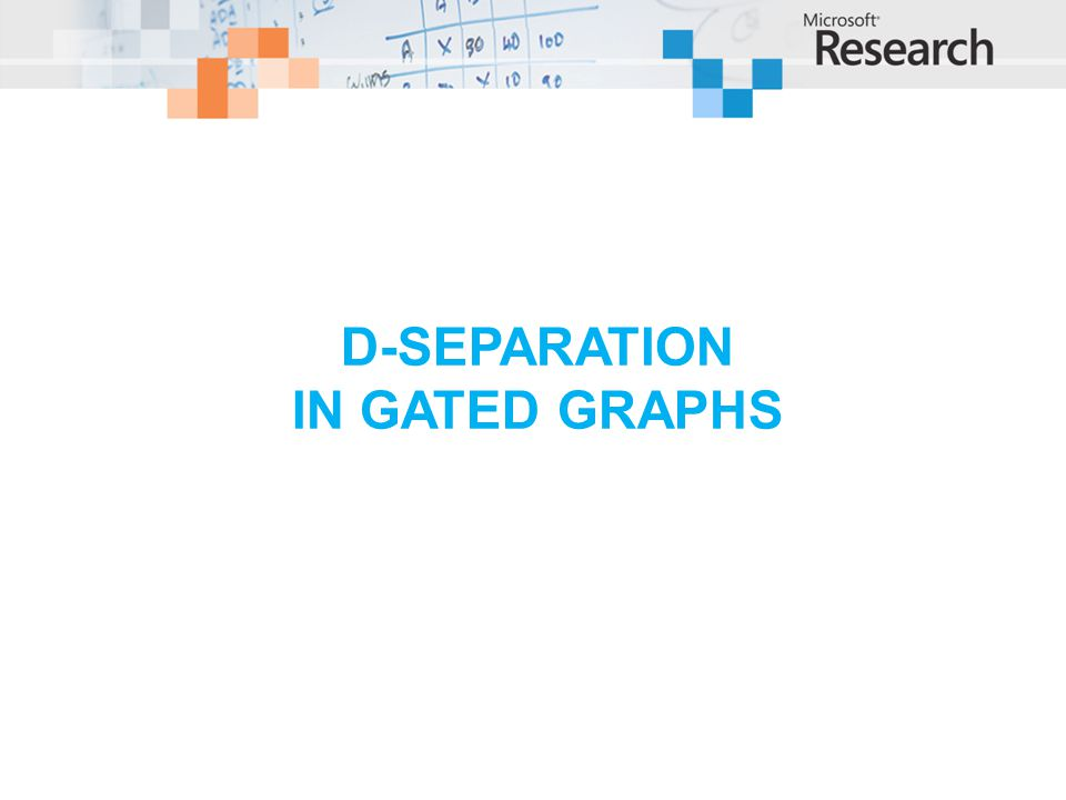 D-separation in gated graphs