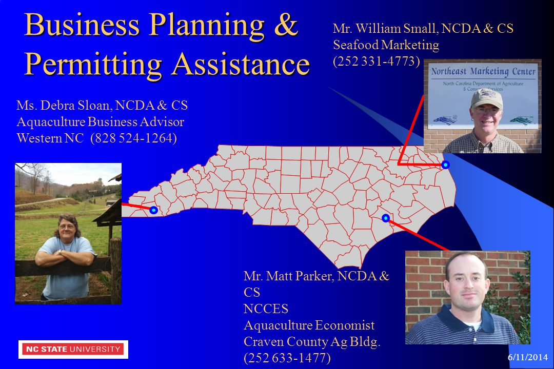 Business Planning & Permitting Assistance