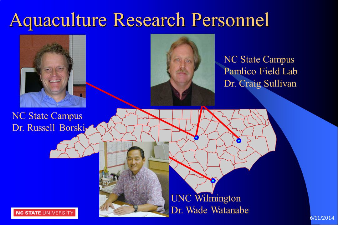 Aquaculture Research Personnel