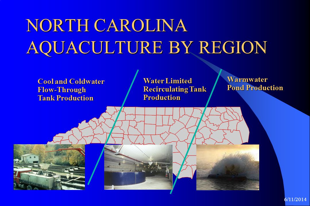NORTH CAROLINA AQUACULTURE BY REGION