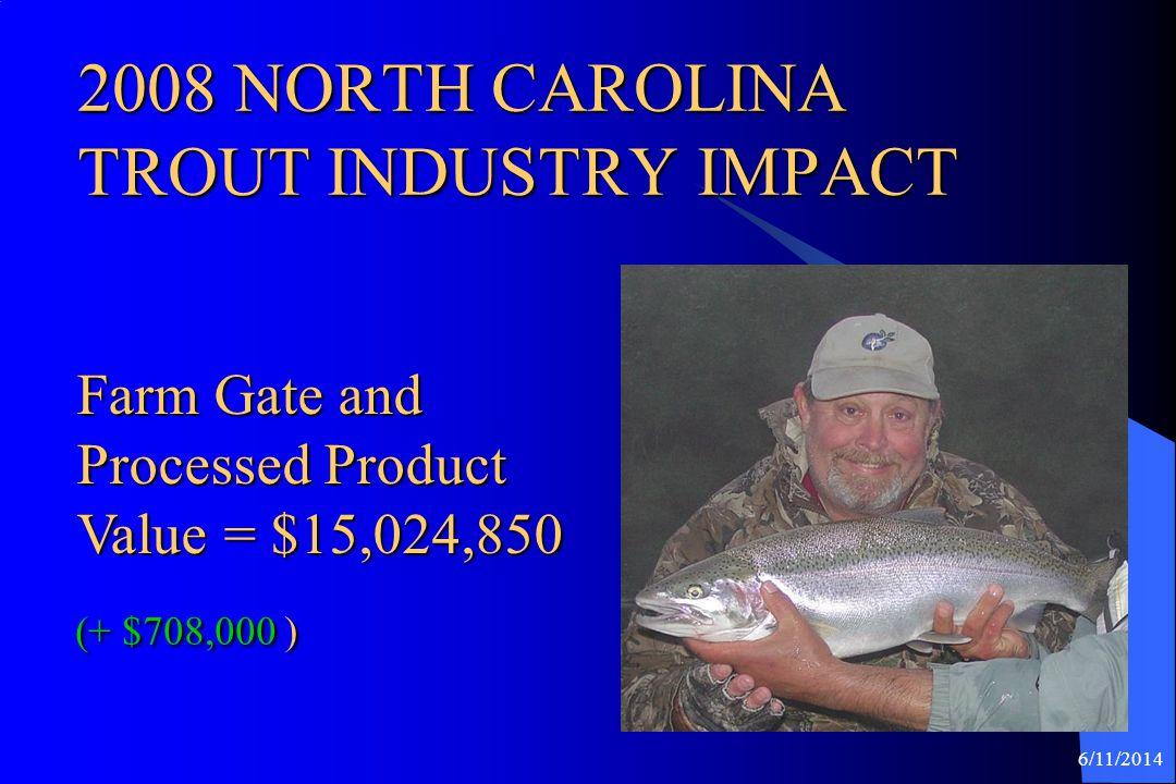 2008 NORTH CAROLINA TROUT INDUSTRY IMPACT