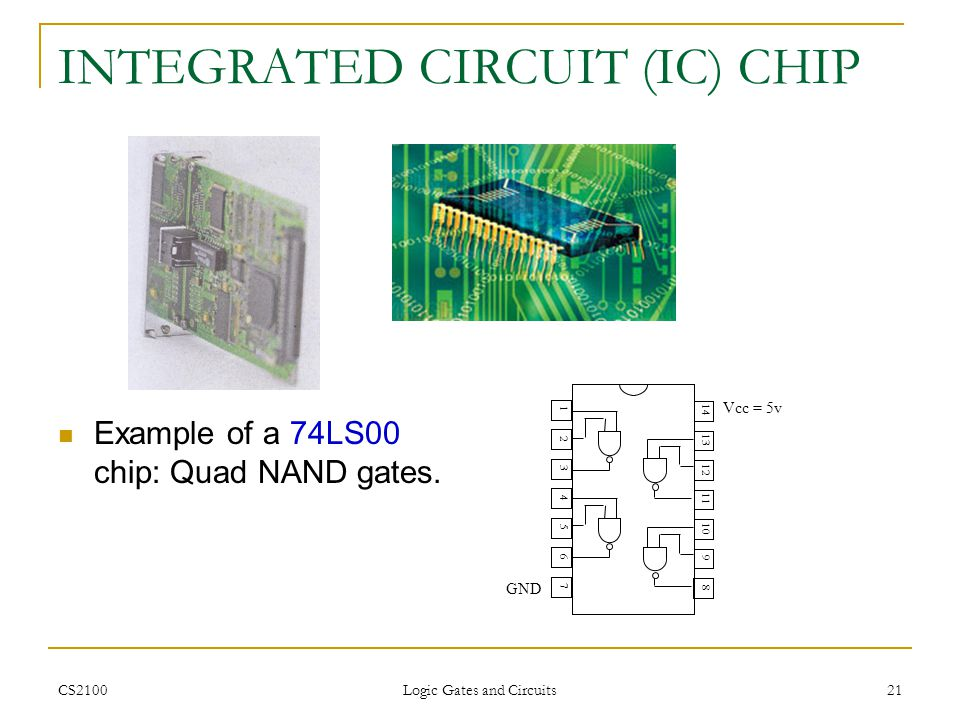 INTEGRATED CIRCUIT (IC) CHIP