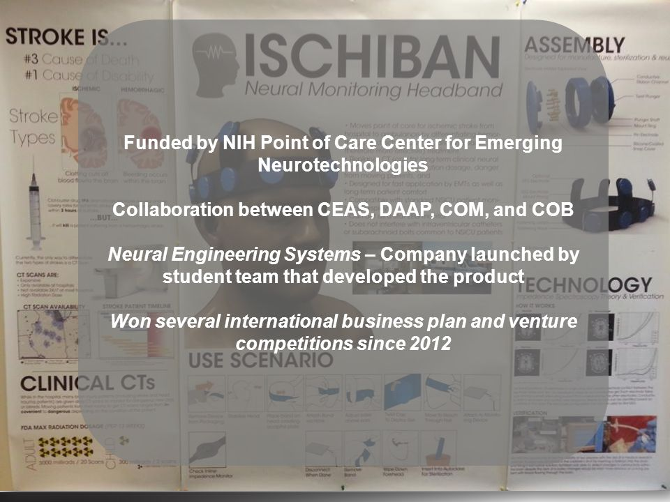 Funded by NIH Point of Care Center for Emerging Neurotechnologies