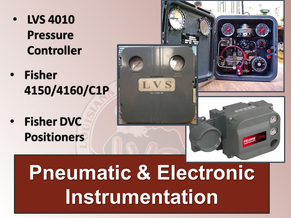 Pneumatic & Electronic Instrumentation