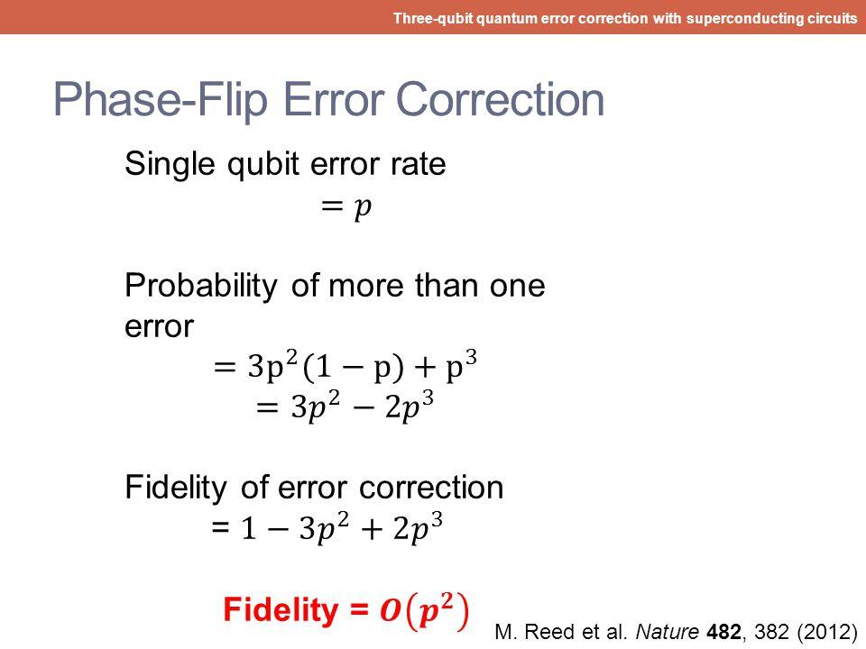 Phase-Flip Error Correction