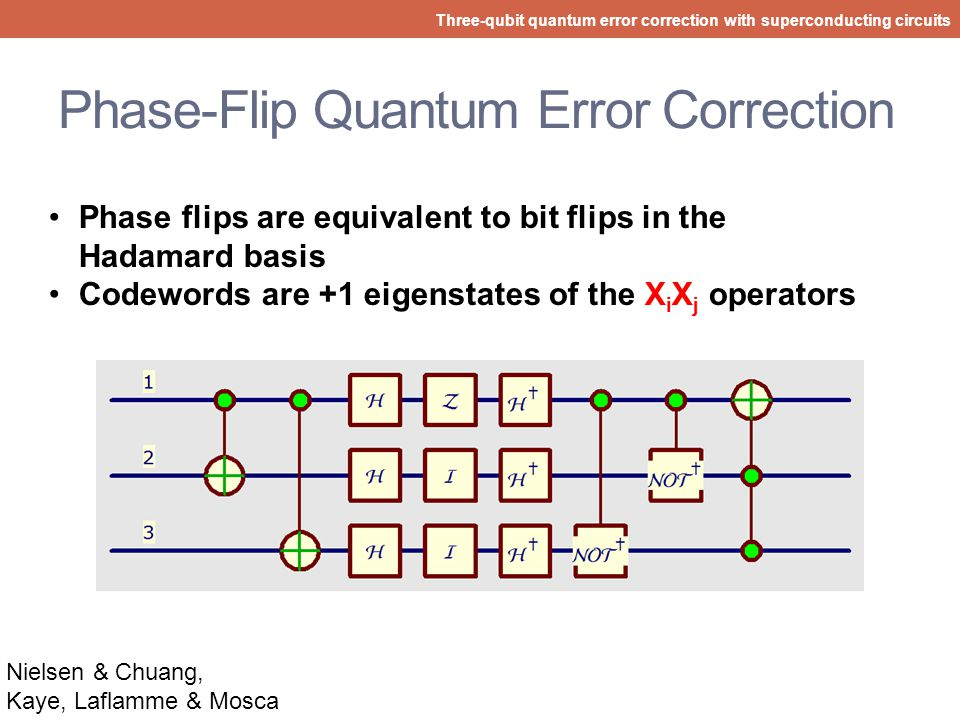 Phase-Flip Quantum Error Correction