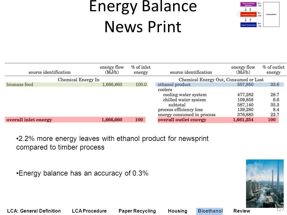 Energy Balance News Print