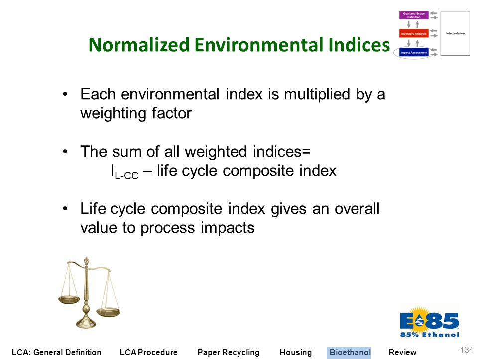 Normalized Environmental Indices