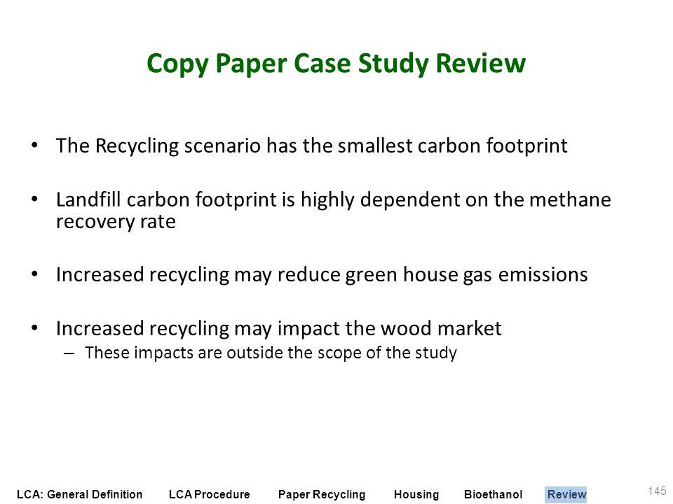 Copy Paper Case Study Review
