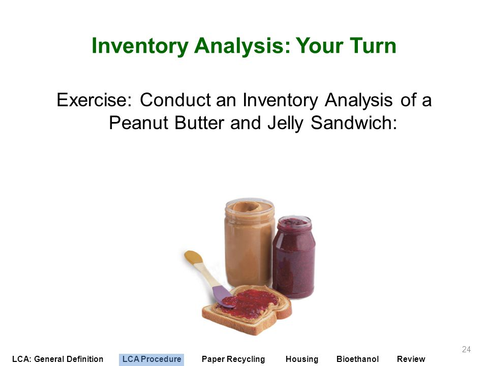 Inventory Analysis: Your Turn