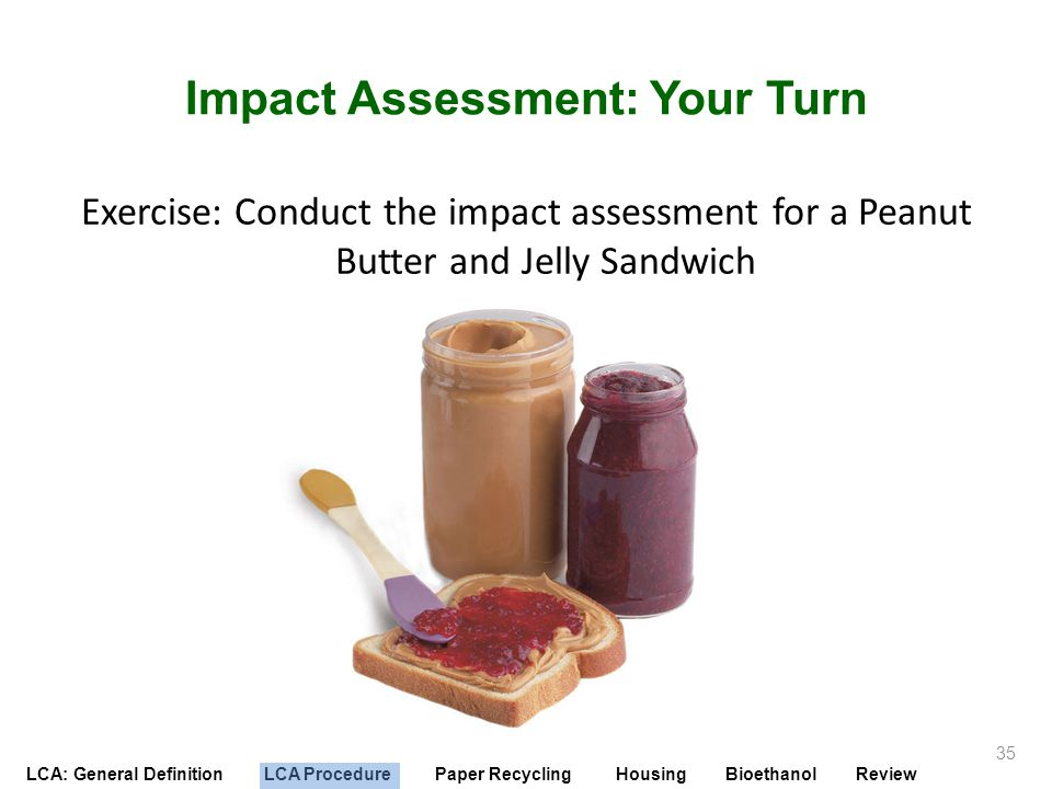 Impact Assessment: Your Turn