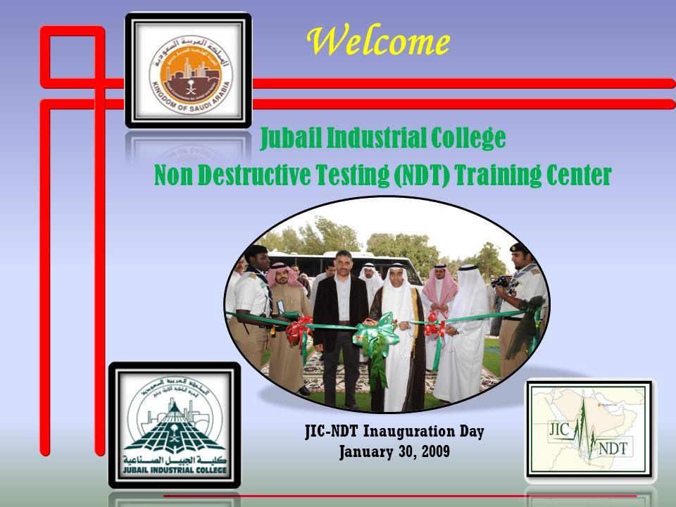 JIC-NDT Inauguration Day