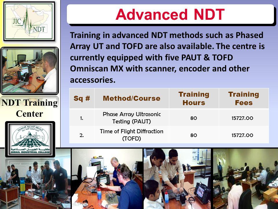 NDT Training Center Advanced NDT.