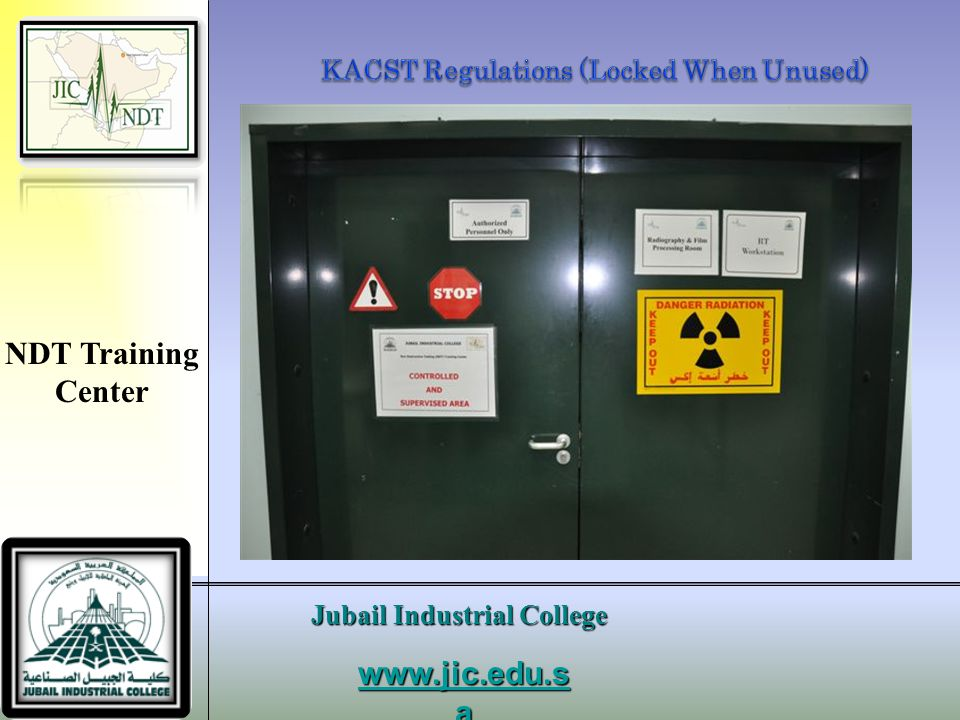 KACST Regulations (Locked When Unused)